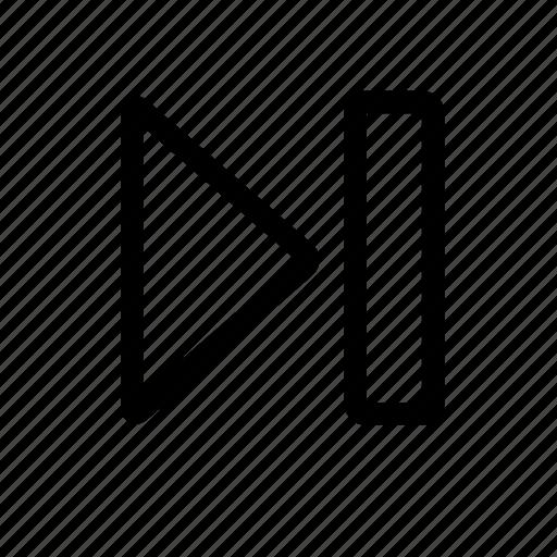 last, skip icon