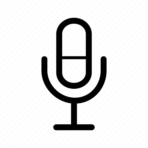 microphone, multimedia, speak icon