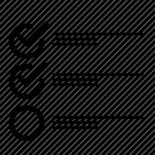 checkmarks, clipboard, do, list, text, to, todo icon