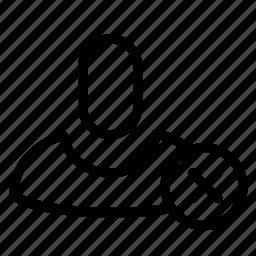 avatar, error, face, female, user icon