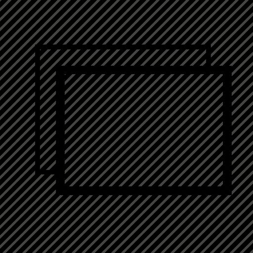 tabs, views icon