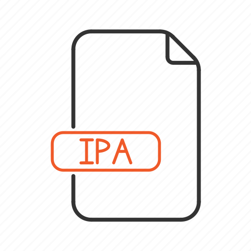 app, apple, ipa, package, store, type icon