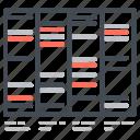 chart, dna, graph, sheet icon