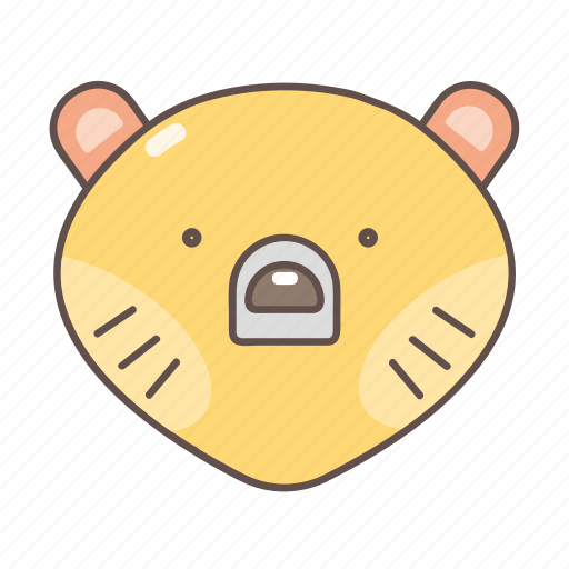 animal, bear, camping, hiking, nature, outdoor, travel icon