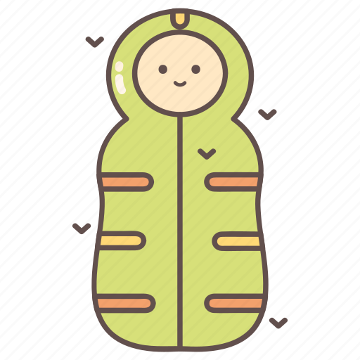 camping, hiking, outdoor, sleeping bag, travelling icon