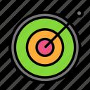 desk, job, office, target icon