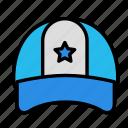 activity, game, hat, sport icon