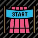 activity, game, sport, start icon