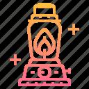 gasoline, lantern, light, oil, outdoor, torch