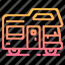 camping, car, caravan, comfortable, outdoor, trailer