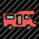 camper, camping, travel, camper van
