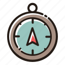 compass, direction, navigation, gps