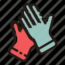 gloves, winter, gardening, glove