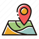 location, map, pin, navigation