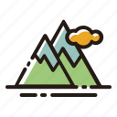 landscape, mountain, nature, view