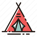 camp, camping, tent, outdoor