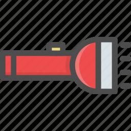 camping, flash, lamp, lantern, light, pocket icon