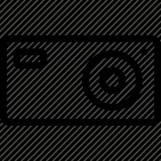camera, digital, image, modern, photo, picture, small icon