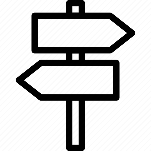 direction, indicator, plate, sign, table, trafic, wood icon