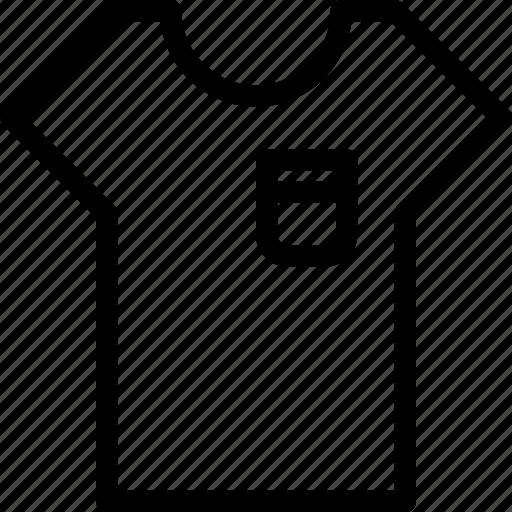 polo, shirt, summer, t-shirt, textile icon