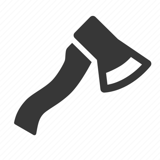 adventure, axe, camping, outdoors, raw, simple icon