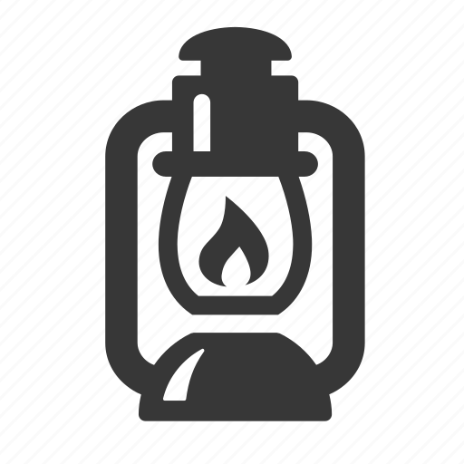 adventure, camping, camping light, lantern, outdoors, raw, simple icon