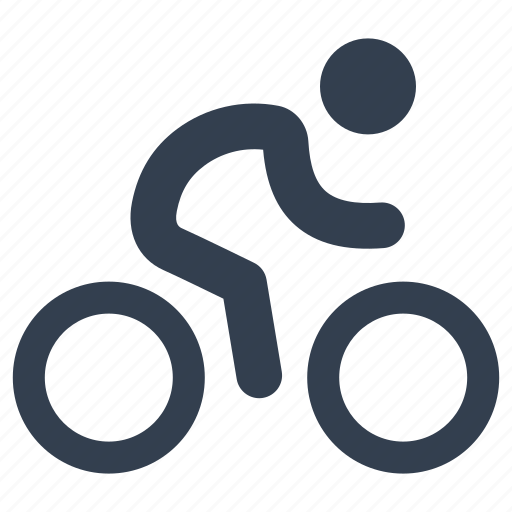 activities, bicycle, bike, camping, leisure, man, outdoor, person, sport, travel icon