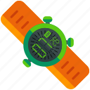 clock, watch icon
