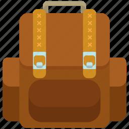 backpack, baggage, luggage icon