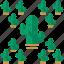 cactus, desert, trees icon