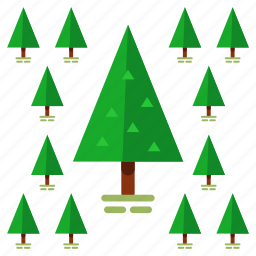 christmas, ecology, nature, outdoor, pine, travel, tree icon