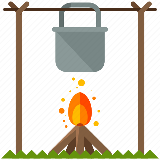 cook, fire icon
