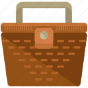 basket, picnic icon