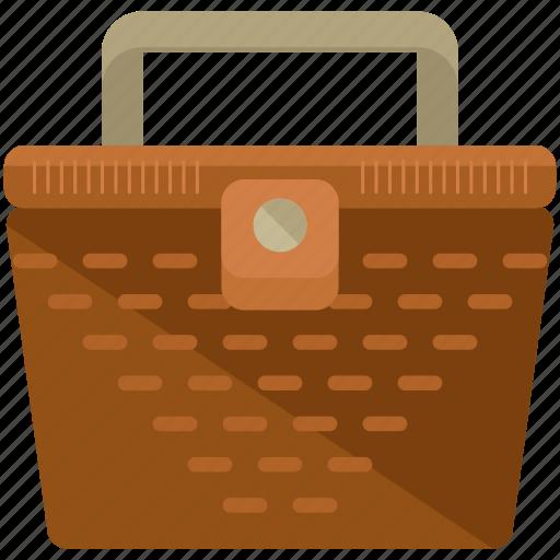 basket, picnic icon