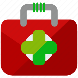 aid, box, first, medical, medicine, outdoor, travel icon
