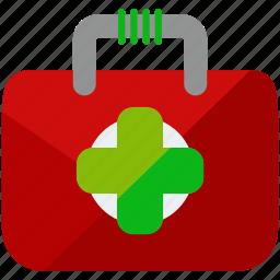 aid, box, first icon