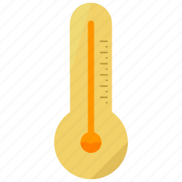 temperature, thermometer icon