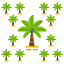 palm, tree, trees icon