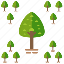tree, trees, woods icon