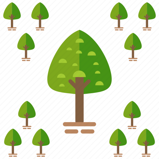 ecology, nature, outdoor, park, travel, tree icon