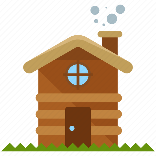 cabin, camp, home, house, outdoor, travel, wooden icon
