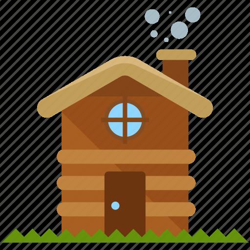 cabin, camp icon