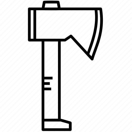 ax, axe, cleaver, hatchet, lumberjack, tomahawk icon