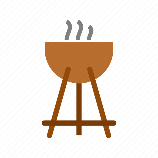 barbecue, campfire, camping, cooking, fire, food, outdoor icon