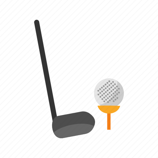 ball, course, golf, grass, green, sport, summer icon