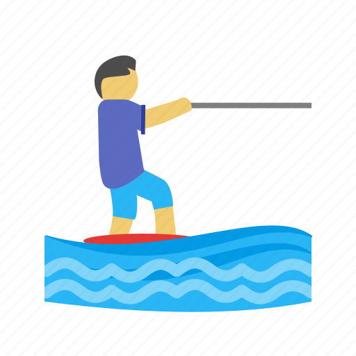 blue, hawaii, sports, surf, surfer, surfing, wave icon
