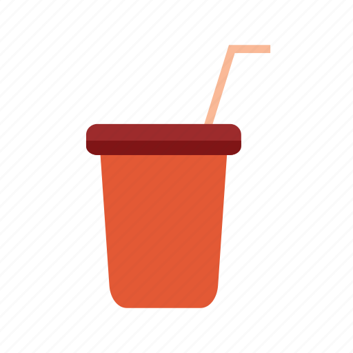 cup, drink, fruit, juice, orange, plastic icon