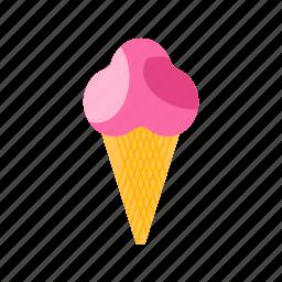 cone, cream, cup, frozen, ice, icecream, yogurt icon