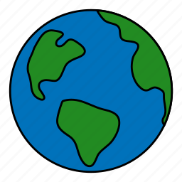 earth, global, globe, planet, space, world icon