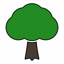 forest, leaves, nature, plant, tree icon